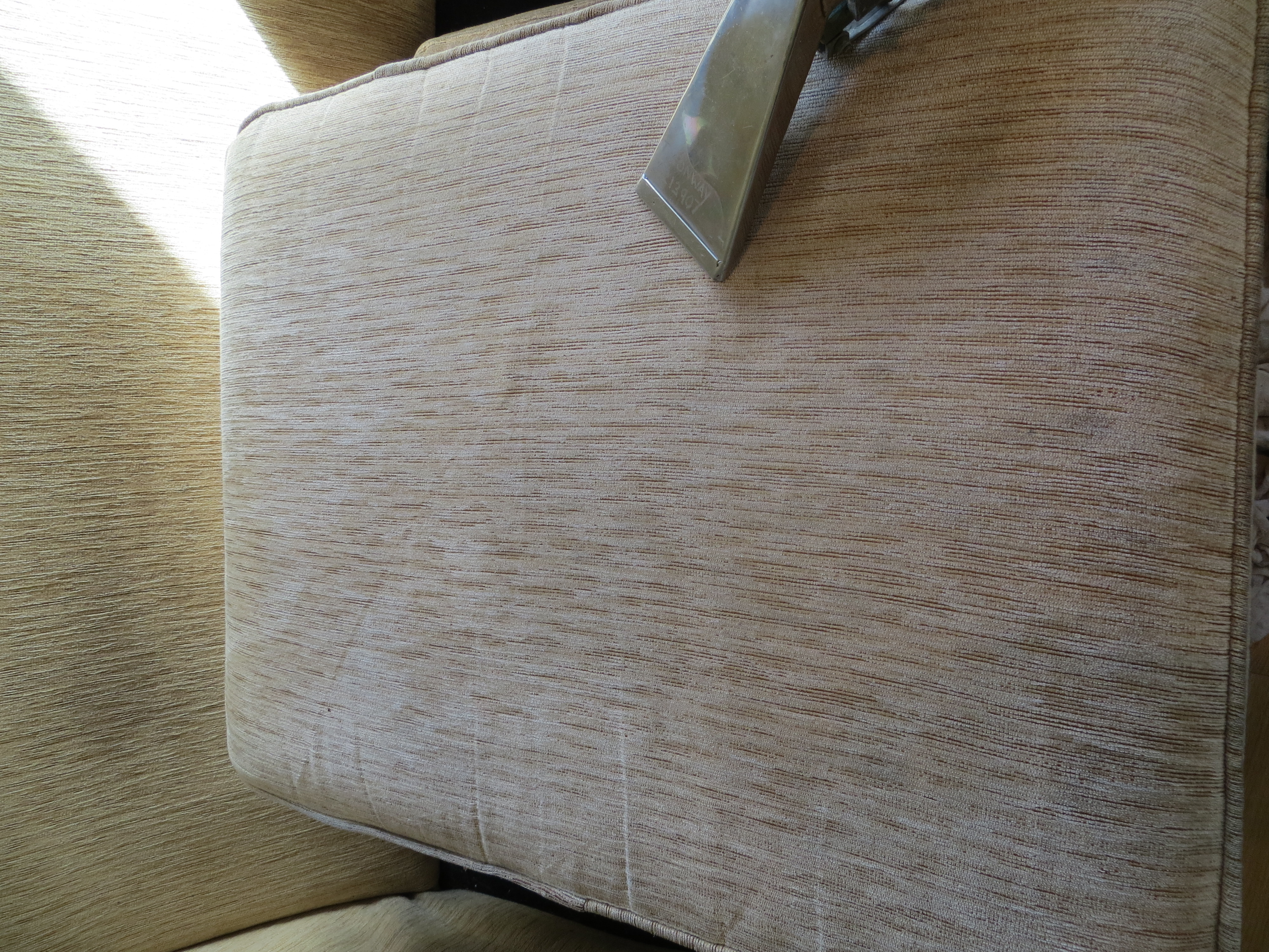 Cushion Dirty Clean Upholstery Cleaning Chair